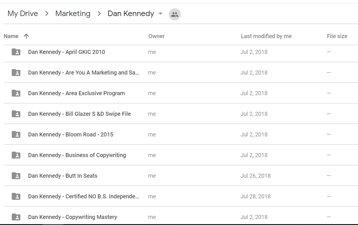 Dan Kennedy - Ultimate Collection [98 Course - Marketing, Sales, Success]