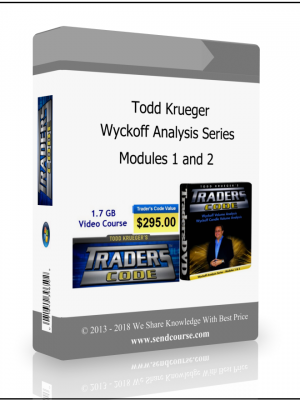 Todd Krueger - Wyckoff Analysis Series Modules 1 and  2