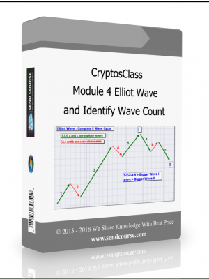 CryptosClass - Module 4 Elliot Wave and Identify Wave Count