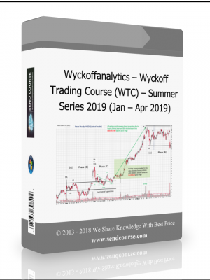 Wyckoffanalytics - Wyckoff Trading Course (WTC) - Summer Series 2019 (Jan - Apr 2019)