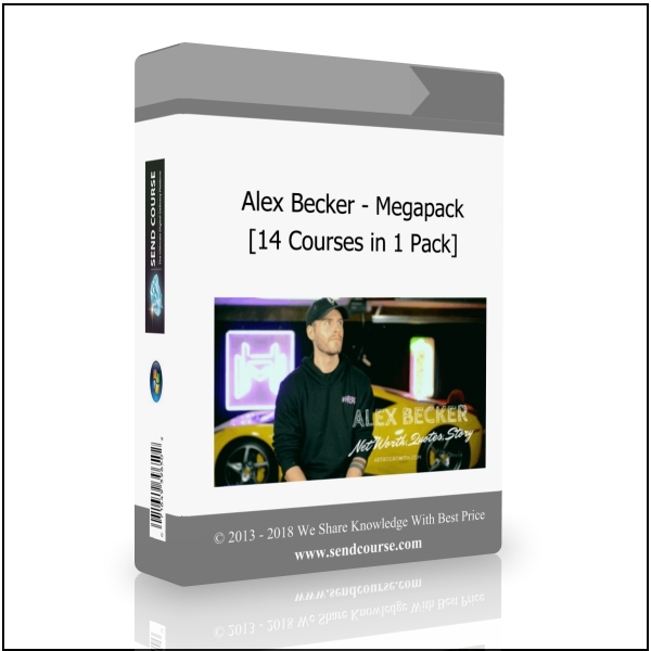 Alex Becker - Megapack (14 courses in 1 Pack)