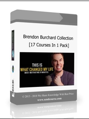 Brendon Burchard Ultimate Collection - 17 Courses In 1 Pack