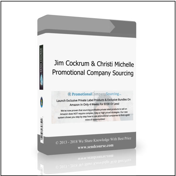 Jim Cockrum & Christi Michelle - Promotional Company Sourcing