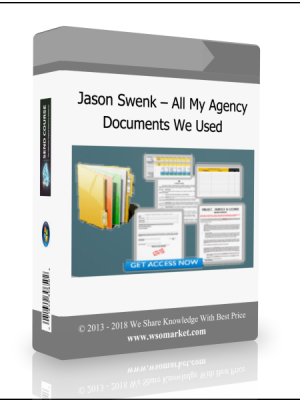 Jason Swenk - All My Agency Documents We Used