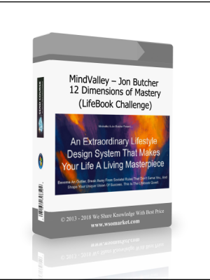 MindValley - Jon Butcher - 12 Dimensions of Mastery (LifeBook Challenge)