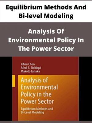 Analysis Of Environmental Policy In The Power Sector - Equilibrium Methods And Bi-level Modeling