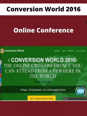 Conversion World 2016 - Online Conference