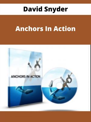 David Snyder - Anchors In Action