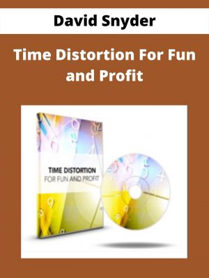 David Snyder - Time Distortion For Fun and Profit