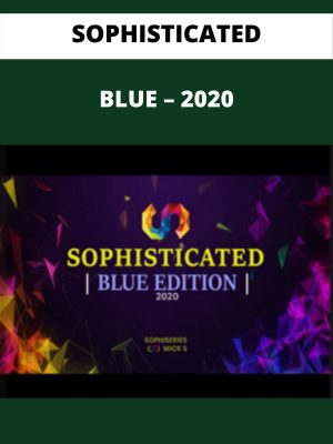 SOPHISTICATED - BLUE - 2020