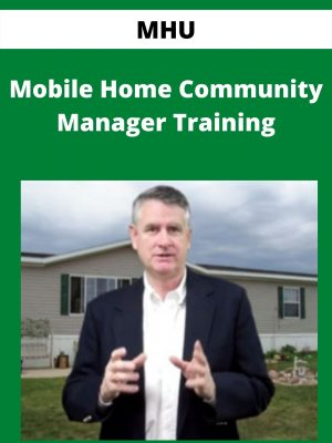 MHU - Mobile Home Community Manager Training