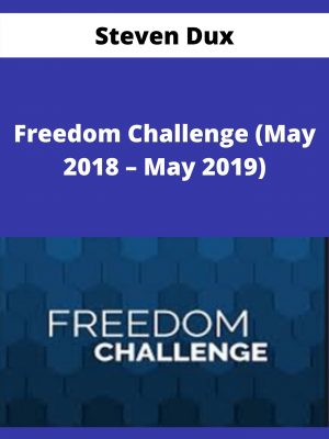 Steven Dux - Freedom Challenge (May 2018 - May 2019)