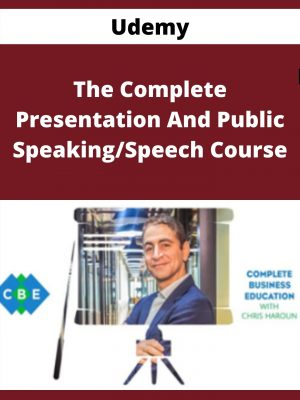 Udemy - The Complete Presentation And Public Speaking/Speech Course