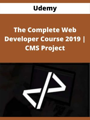 Udemy - The Complete Web Developer Course 2019 | CMS Project