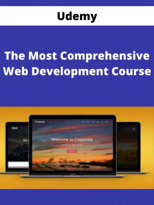 UDEMY - The Most Comprehensive Web Development Course