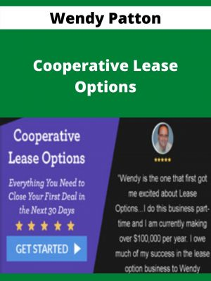 Wendy Patton - Cooperative Lease Options